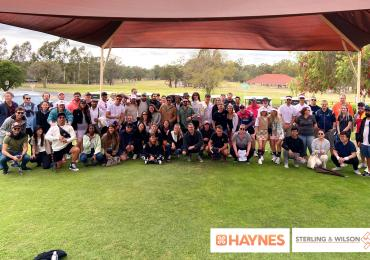 Haynes Group and Sterling and Wilson Golf Day